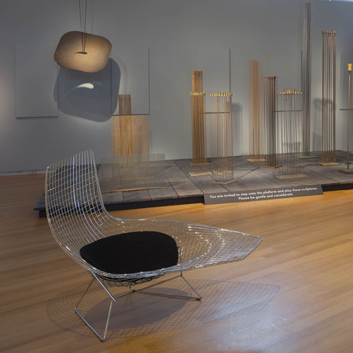 Atmosphere for Enjoyment: Harry Bertoia's Environment Sound, Mad - The Museum of Arts and Design, New York