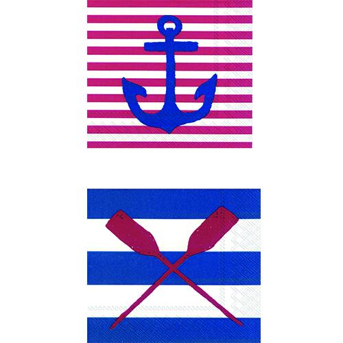 Tovaglioli della linea Yacht Club di Ihr (circa 2.60 euro)