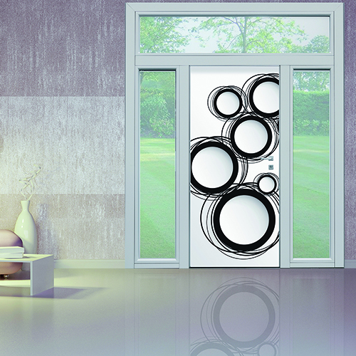 Sono disponibili tre configurazioni di Sleek: standard, legno avvolgente e telaio invisibile