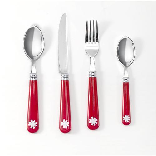 Forchetta (2.79 euro), coltello (2.79 euro),  cucchiaio (2.79 euro) e  cucchiaino (1.99 euro)