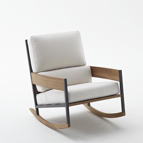 Nap Rocking Chair di Roda