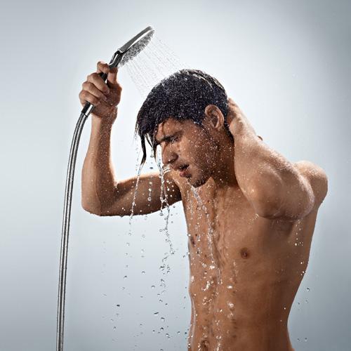 Doccetta Raindance Select E 120 che si usa anche come una normale doccia per tutto il corpo
