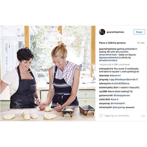 Il plum cake Gwyneth Paltrow