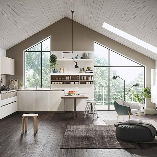Cucina aperta o chiusa casa design - Cucina senza fornelli ...