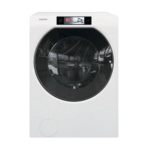 Hoover, Washing Machine with TED (Textile Expert Detector). Questa lavatrice vanta un innovativo dispositivo Wi-Fi che riconosce la tipologia di tessuto dell'indumento da lavare e consiglia di conseguenza il programma più adatto