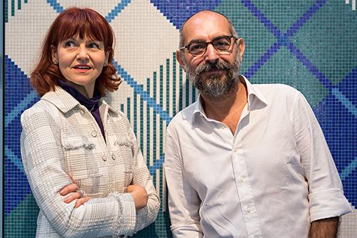 Ferruccio Laviani e Rossella Bisazza