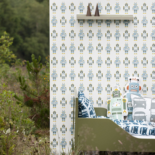Robots di Ferm Living (in vendita su www.madeindesign.it)