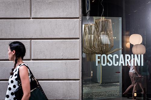 Foscarini Spazio Brera si trova in via Fiori Chiari 28 a Milano