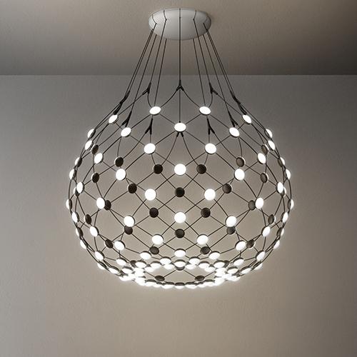 La lampada a led Mesh di Francisco Gomez Paz per Luceplan