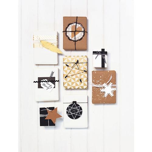 Non solo decorazioni per la casa. Holly Becker e Leslie Shewring propongono idee anche per i pacchetti regalo