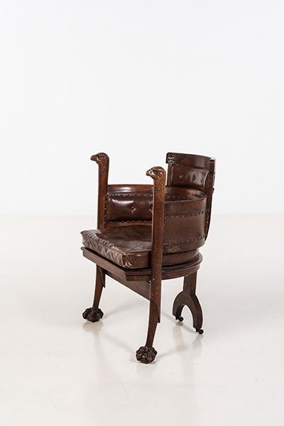 Edward Godwin (1833-1886), sedia, circa 1870