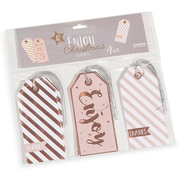 Sono di Maisons du Monde le 12 etichette perfette per personalizzare i regali di Natale (prezzo 1,99 euro)?