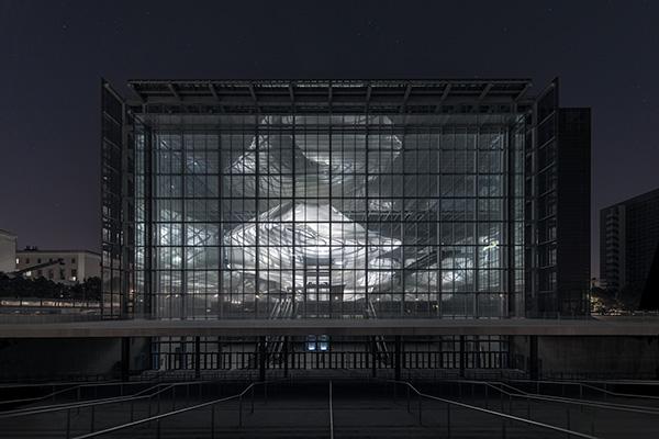 """Il nuovo Centro Congressi e Hotel """"La Nuvola"""" all'Eur di Roma dello Studio Fuksas (foto Moreno Maggi)"""