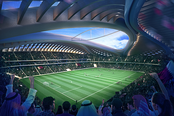 Al-Wakrah Stadium dello Zaha Hadid Architects