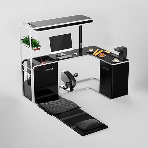 The Omnidesk di Viking ha l'obiettivo di rendere l'ambiente lavorativo più rilassante e produttivo