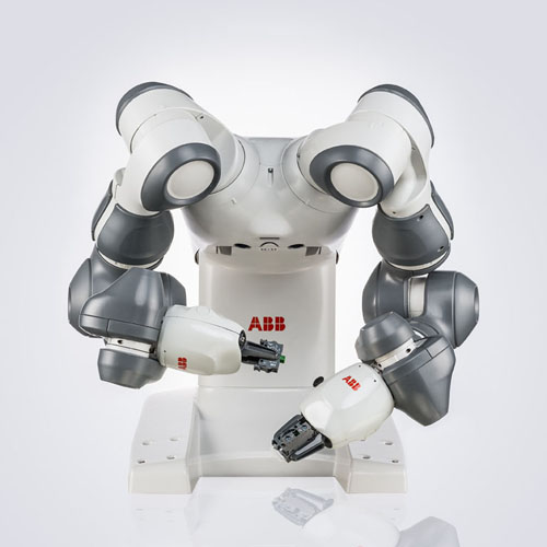 ABB Ltd., »YuMi®, dual-arm industrial robot«, 2015, Collaborative robot, © ABB Ltd.