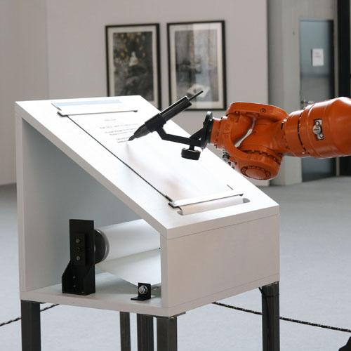 Robotlab (ZKM), »Manifest«, 2008, © robotlab/ZKM