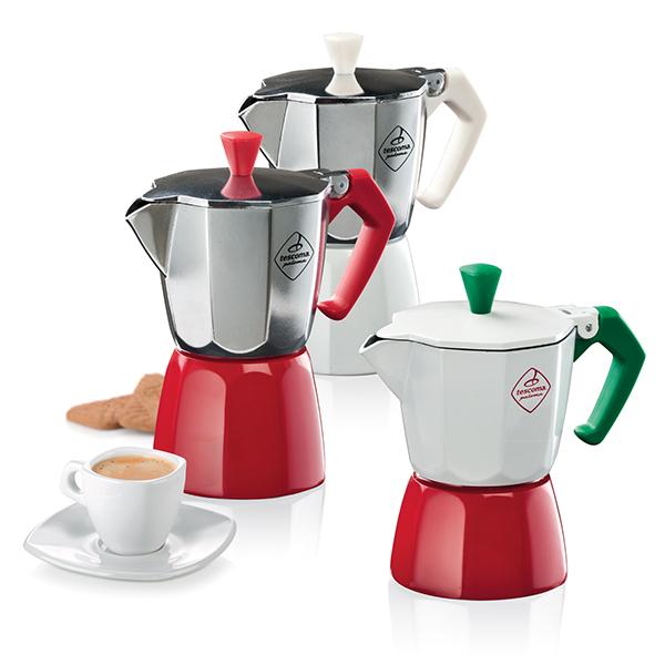Un tocco di fantasia al caffè con la linea di caffettiere Paloma di Tescoma