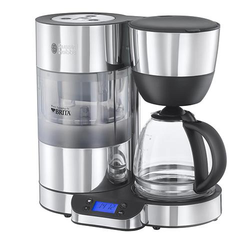 Per una colazione in perfetto stile statunitense non può mancare il bicchierone di caffè americano. Russell Hobbs ha lanciato Clarity, la macchina che include un filtro Brita integrato per rimuovere le impurità dall'acqua, così da ottenere un caffè dal gusto migliore (100 euro)