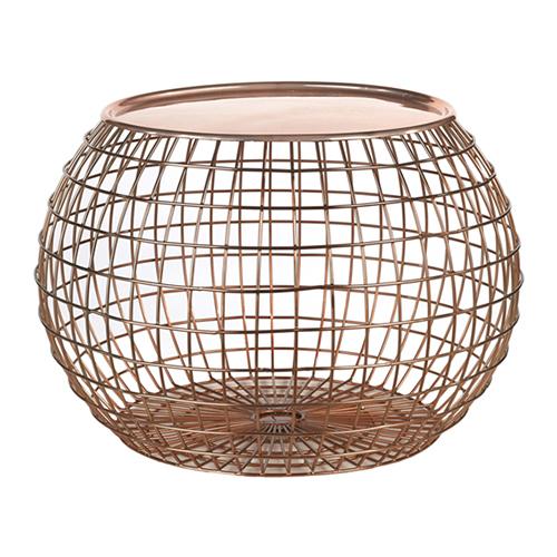 Tavolino Ball Wire di Pols Potten (199 euro, in vendita su www.madeindesign.it)