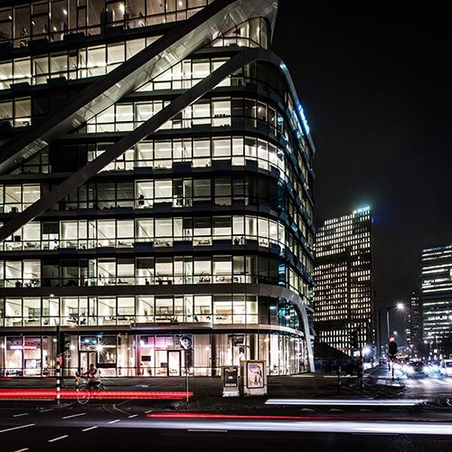 Il nuovo negozio di Flexform si trova nel quartiere emergente Zuidas