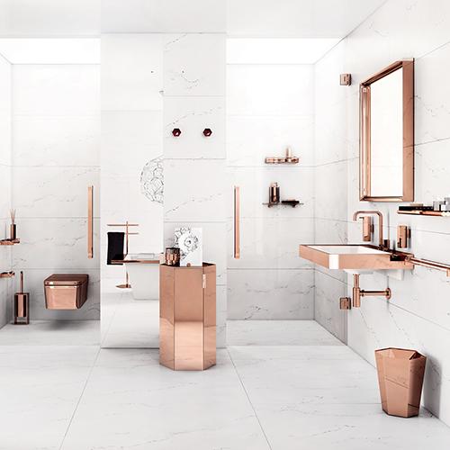 La collezione per vestire il bagno Mirage by Pomd'or