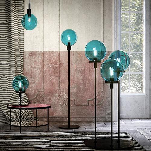 Le nuove collezioni Illogica allegria ed Eclat d'eau sono entrambe realizzate in vetro di Murano e metallo