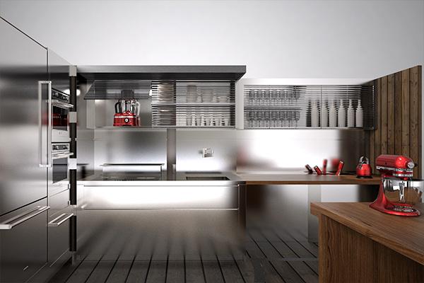 Artisan Box, la cucina di Marc Sadler per KitchenAid