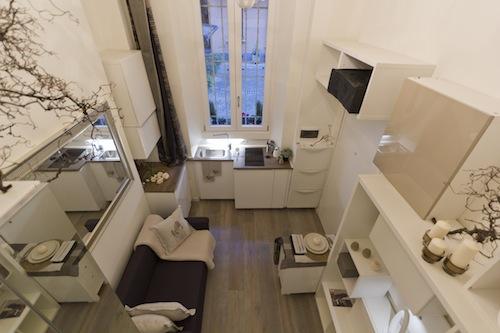 Da Magazzino In Monolocale Di 23 Metri Quadrati Casa Design