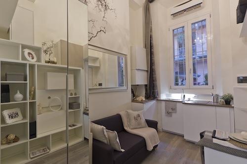 Da magazzino in monolocale di 23 metri quadrati casa for Quadri per appartamento