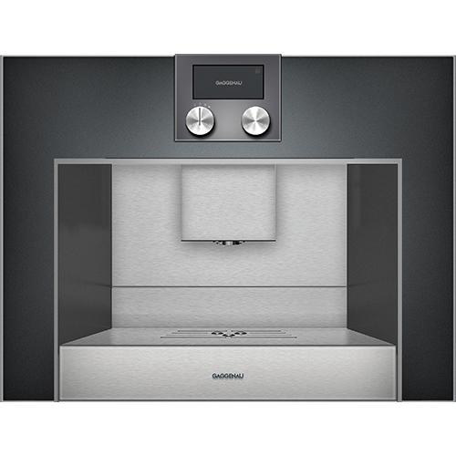 Alcuni problemi delle macchine del caffè possono derivare da depositi di calcare: da Gaggenau il programma di pulizia e decalcificazione automatico dopo ogni singola preparazione