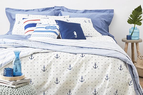 """Dormire avvolti dalla magia delle onde: da<a href=""""/www.dalani.it/"""">Dalani</a>una collezione tessile ispirata alla vita dei fondalie al mondonautico"""