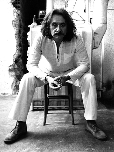 Ettore Sottsass, 1973 (courtesy: Studio Ettore Sottsass)