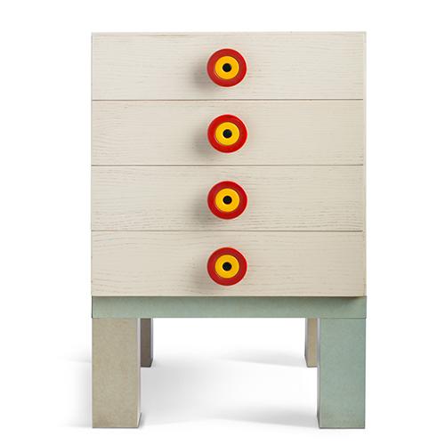 Kubirolo, chest of drawers, 1966-1967 Manufacturer: Poltronova (photo: Jürgen Hans)
