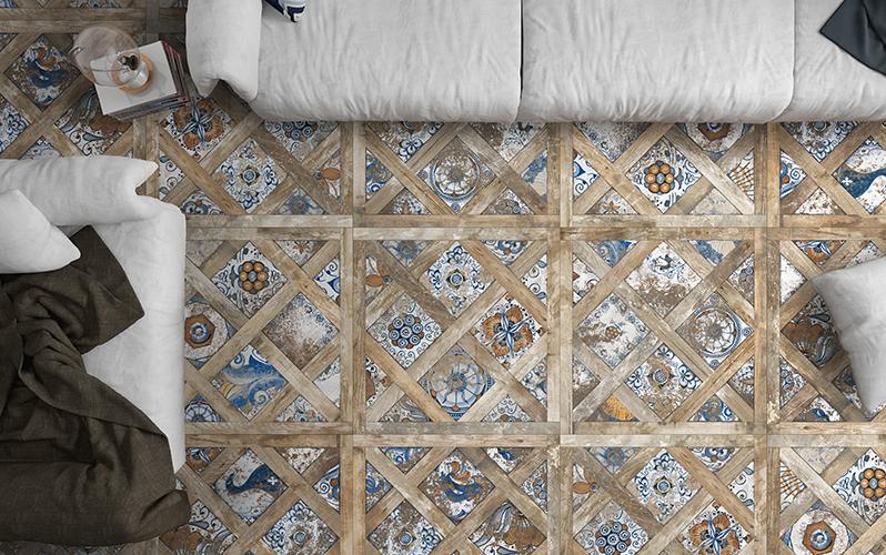 Ispirazione vintage per la collezione Vignoni di Ceramica Del Conca