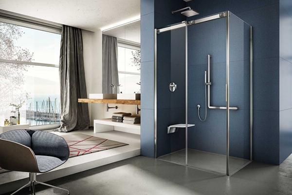 Soft è la nuova linea di cabine doccia con porte scorrevoli di Provex. La collezione è dotata della tecnologia Silicon Free, un sistema che prevede l'utilizzo di una guarnizione speciale in pvc resistente all'acqua in sostituzione del silicone
