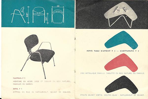 """BRUXELLES, <em>Art &amp; Design Atomium Museum</em> -L'esposizione permanente <em>Plasticarium</em> narra l'impatto della plastica sulla creazione di arte e design dagli anni Cinquanta ai giorni nostri.<em> Panorama. A history of modern design in Belgium</em>,in programma fino al 18 gennaio,ripercorre cento anni di storia del design moderno in Belgio: questa nazione non è immediatamente associata al design, eppure la creativitàsi intreccia con la storia del Paese: movimenti artistici come ad esempio l'Art Nouveau ènata qui. In foto un lavoro dell'architetto belga Willy Van Der Meeren per Tubax <em><a href=""""http://www.adamuseum.be/"""">www.adamuseum.be</a></em>"""