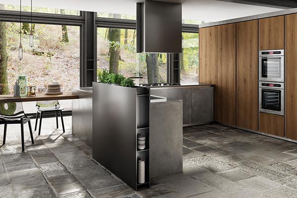 La cucina del futuro, focolaio domestico dal cuore hi-tech - Casa ...