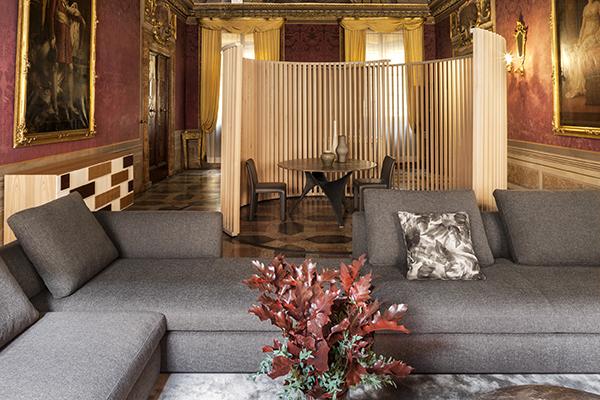 Il Temporary Living Space proposto da Sara Simoska con arredi Molteni&C | Dada