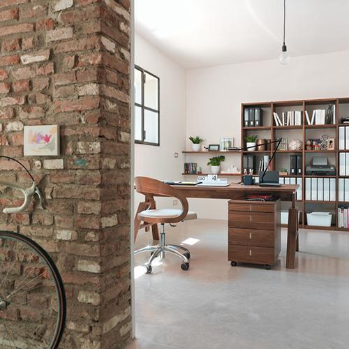 """La sedia girevole <em>Girado</em> di <a href=""""http://www.team7.it"""">Team 7</a> è realizzata in pregiato legno naturale"""