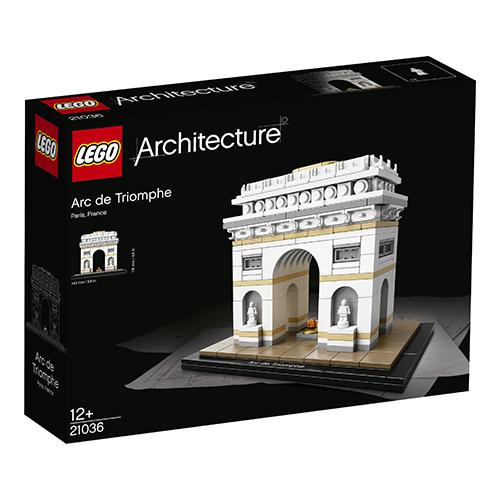 """Per gli eterni bambini: l'Arco di trionfo ricostruito con i mattoncini più famosi del mondo. La serie<em> Architecture</em> di <a href=""""http://www.lego.com/it-it"""">Lego</a> è pensata per i grandi: i luoghi e le capitali più noti diventano costruzioni da montare (34,99 euro)"""