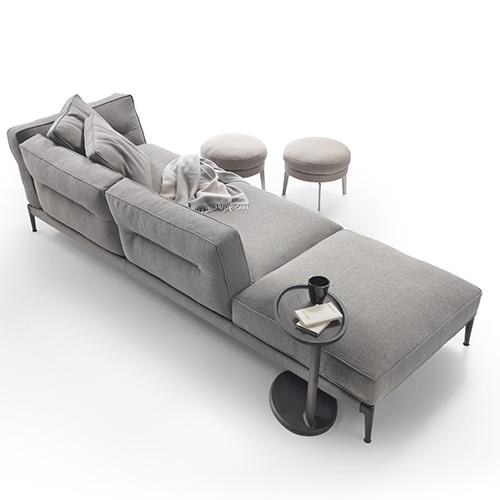 """<a href=""""http://www.flexform.it"""">Flexform</a> è presente a Colonia con alcuni prodotti di punta come il divano <em>Adda</em>"""