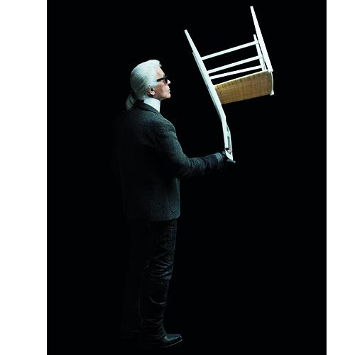 La sedia <em>699 Superleggera<em> di Gio Ponti (photo by Karl Lagerfeld)