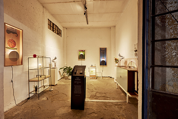 Data Orchestra installation di Jelle Mastenbroek