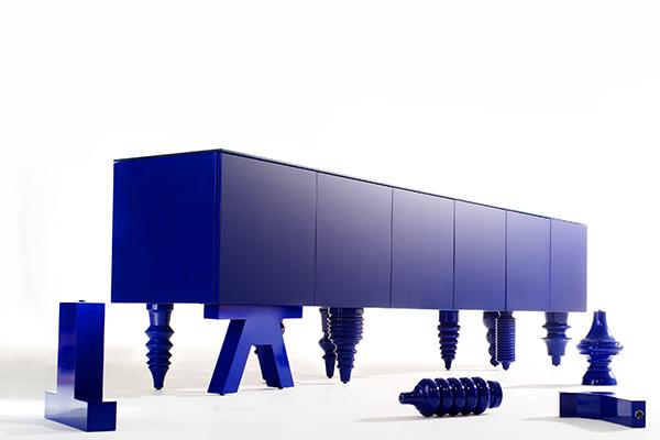Multileg Cabinet di Jaime Hayon per BD Barcelona Design