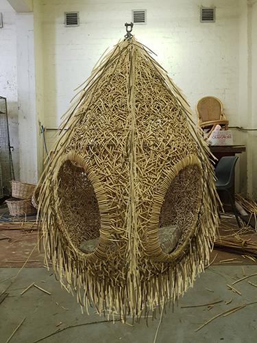 Il nido sospeso di Porky Hefer