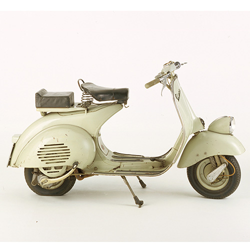 I mezzi di trasporto sono un ambito significativo del design made in Italy. La Vespa 125 del 1949
