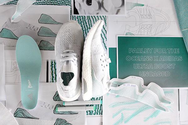 Le scarpe Adidad realizzate riciclando la spazzatura presente nei nostri oceani