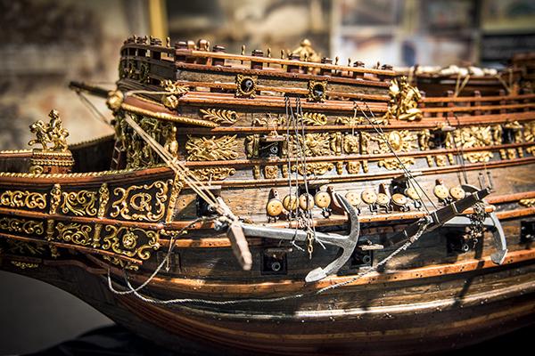 Modello di Vascello inglese 1637