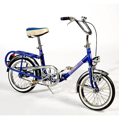 Graziella, la bicicletta pieghevole ideata da Rinaldo Donzelli per Bottecchia e prodotta dal 1964